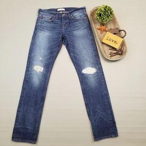 Rivet & Thread Madewell Slim distressed jeans